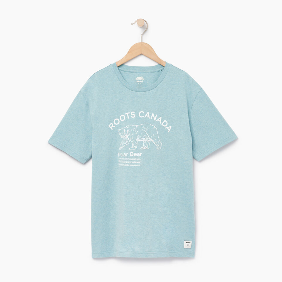 Roots-Men Our Favourite New Arrivals-Mens Friends T-shirt-Cameo Blue Pepper-A