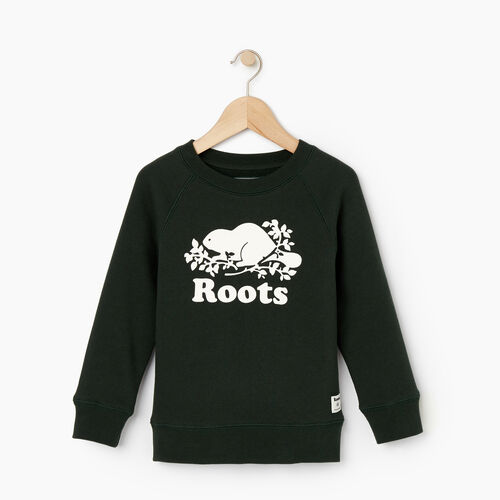 Roots-Kids Our Favourite New Arrivals-Toddler Original Crewneck Sweatshirt-Park Green-A