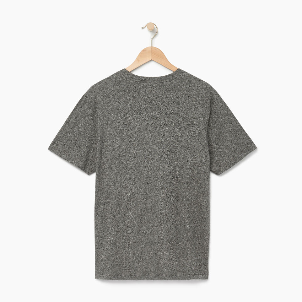 Roots-Men Our Favourite New Arrivals-Mens Roots Runner T-shirt-Charcoal Pepper-B