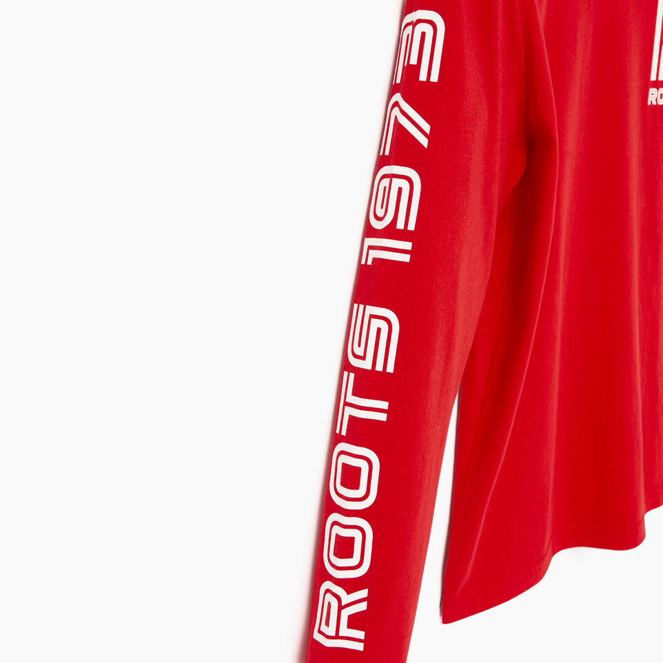 Roots-Kids Our Favourite New Arrivals-Boys Sportsmas Multi T-shirt-Racing Red-E