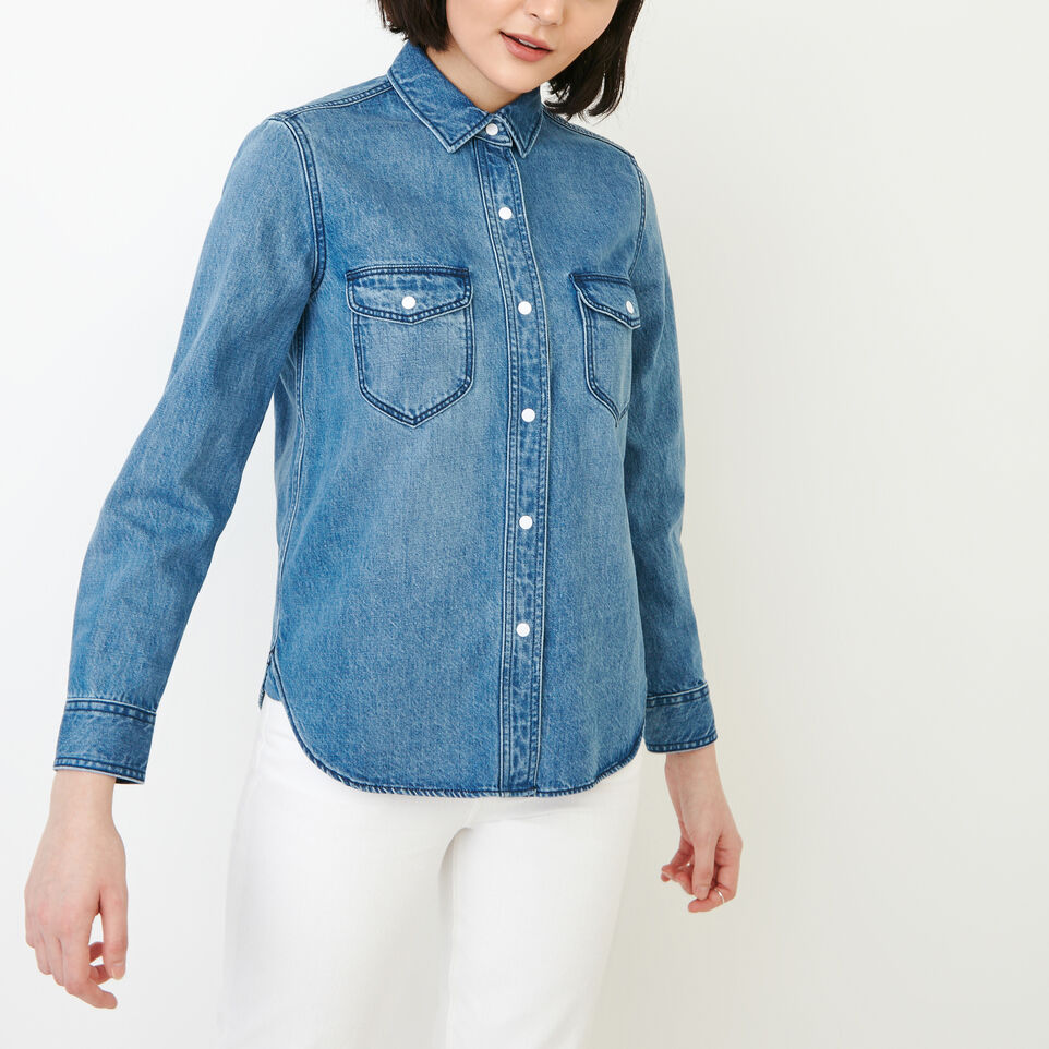 Roots-undefined-Scout Denim Shirt-undefined-A
