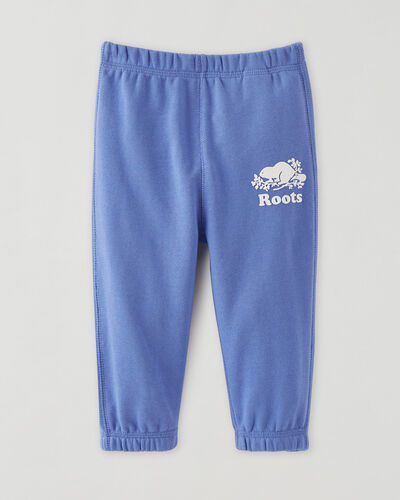 Roots-Kids Bottoms-Baby Original Sweatpant-Wedgewood-A
