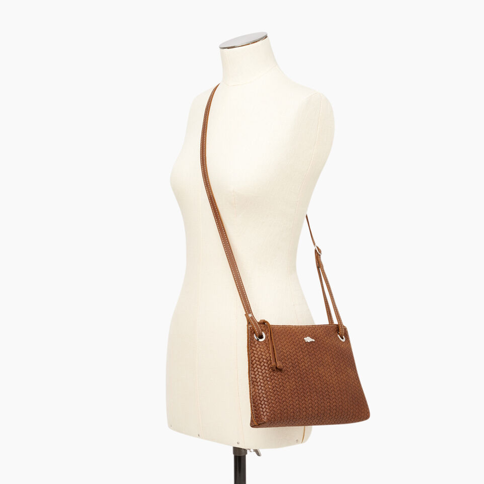 Roots-Leather  Handcrafted By Us Our Favourite New Arrivals-Edie Bag Woven-Natural-B