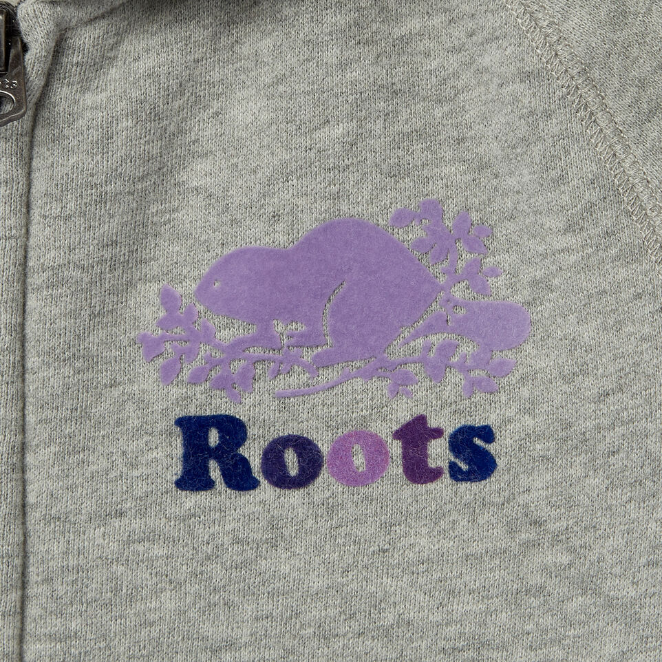 Roots-undefined-Girls Original Full Zip Hoody-undefined-D