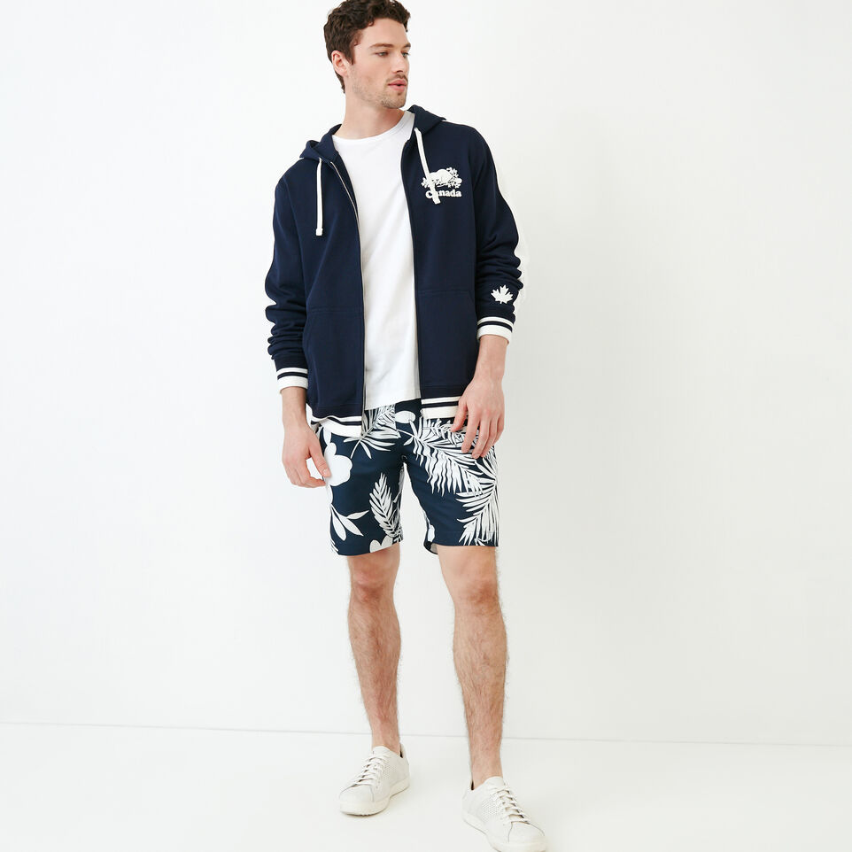 Roots-New For June Canada Collection By Roots™-Canada Zip Hoody-Navy Blazer-B