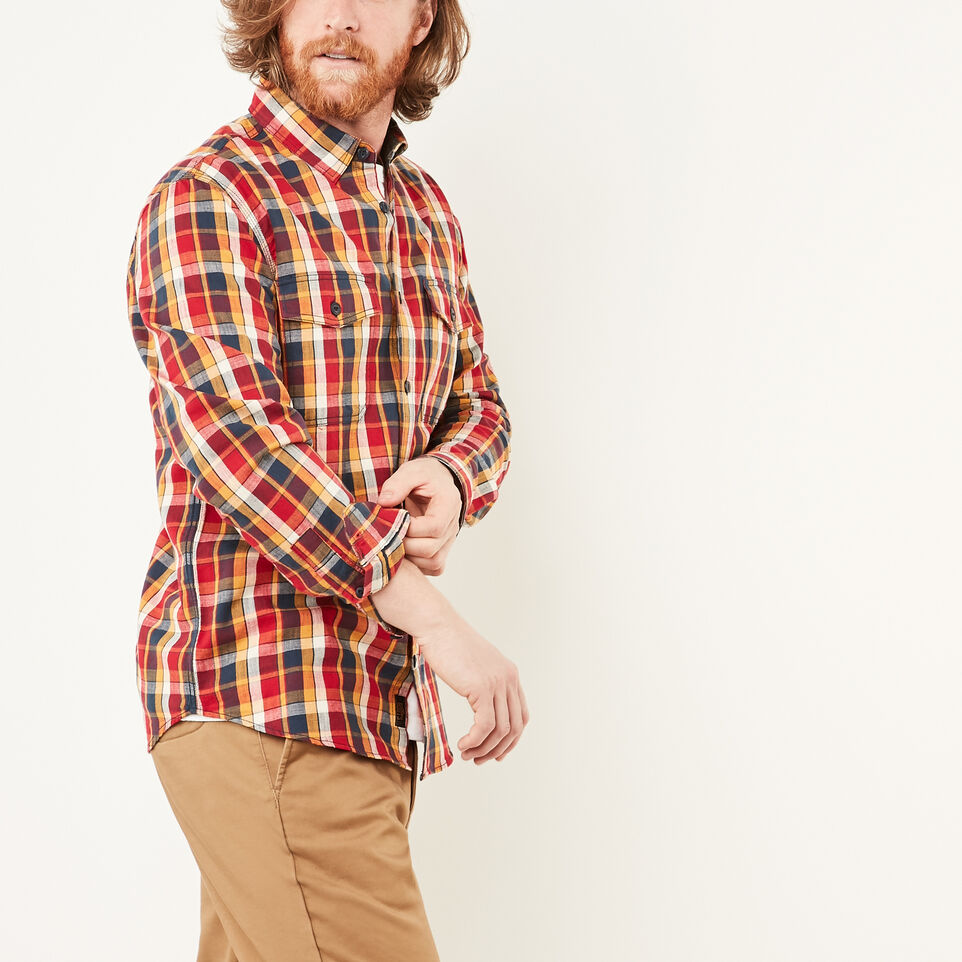 Roots-undefined-Riverside Plaid Shirt-undefined-B