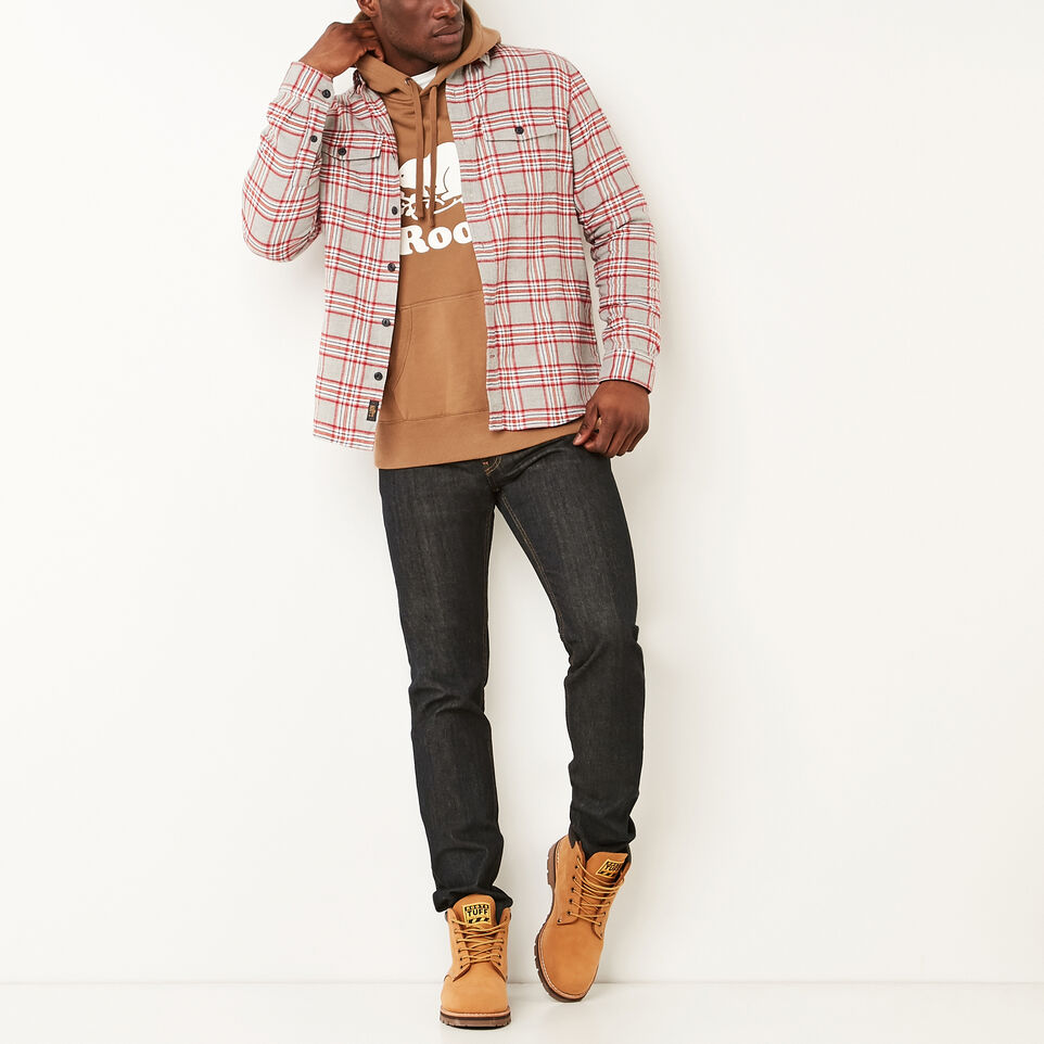 Roots-undefined-Heritage Flannel Shirt-undefined-B