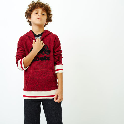 Roots-New For October Kids-Boys Roots Cabin Kanga Hoody-Cabin Red Pepper-A