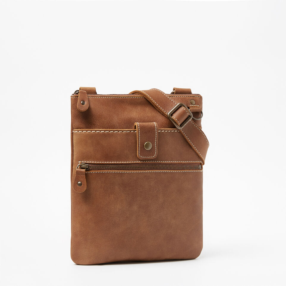 Roots-Leather Handbags-Small Venetian Tribe-Natural-A