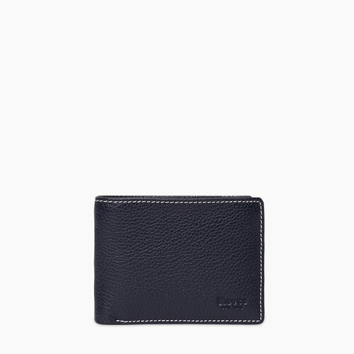 Roots-Leather Wallets-Mens Slimfold Sideflap Cervino-Navy-A