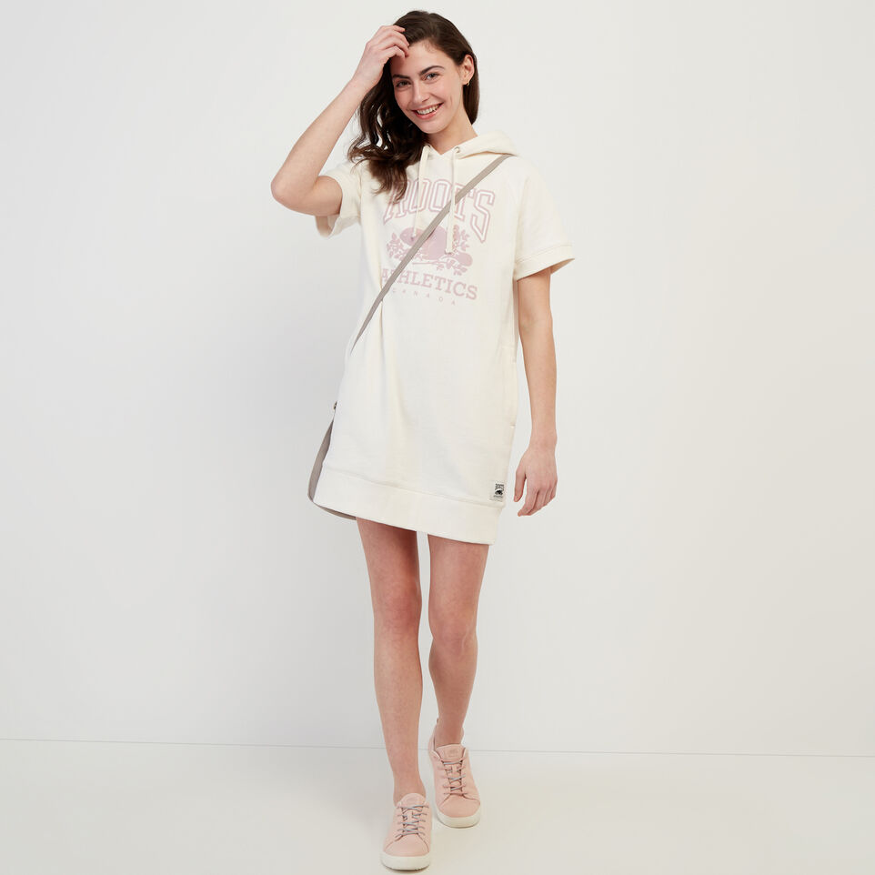 Roots-Women Our Favourite New Arrivals-RBA Hooded Dress-Egret-B