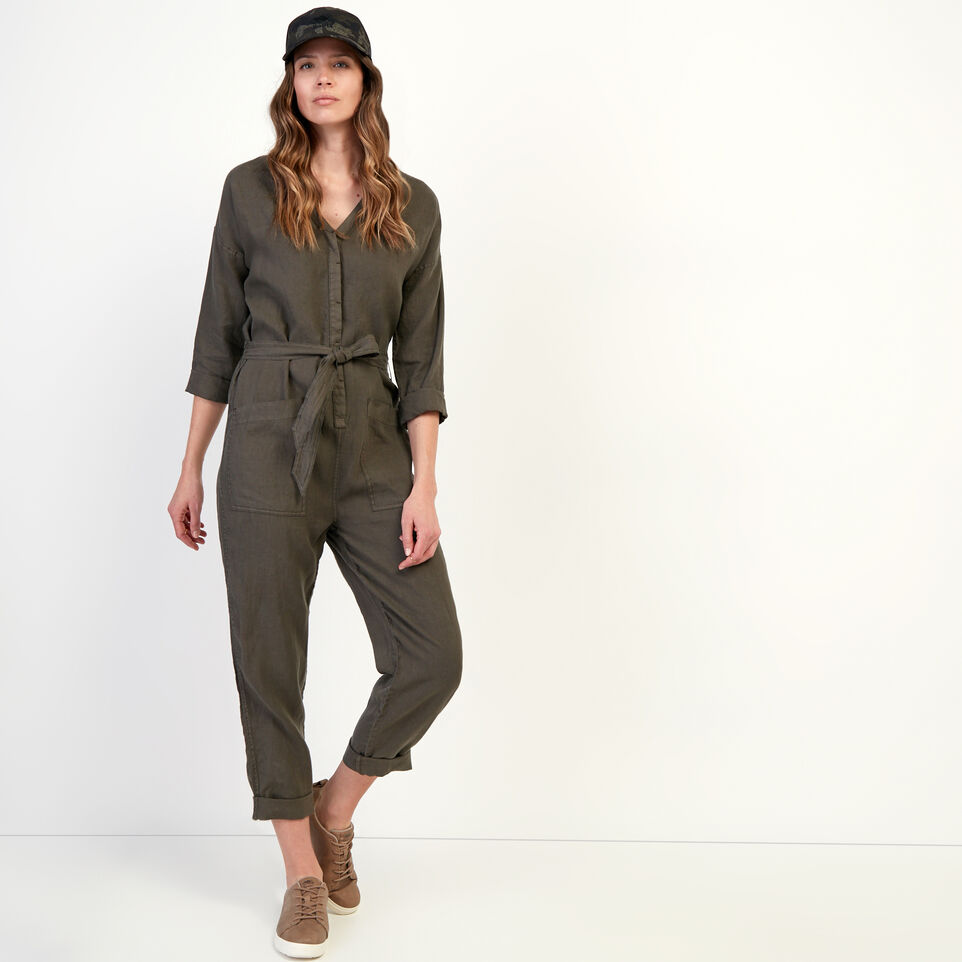 Roots-undefined-Roots Linen Jumpsuit-undefined-A