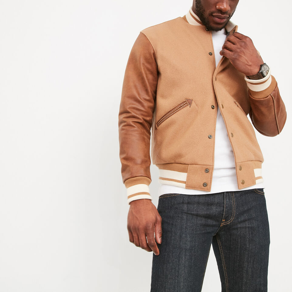 Roots-undefined-Men's Varsity Jacket Tribe-undefined-A