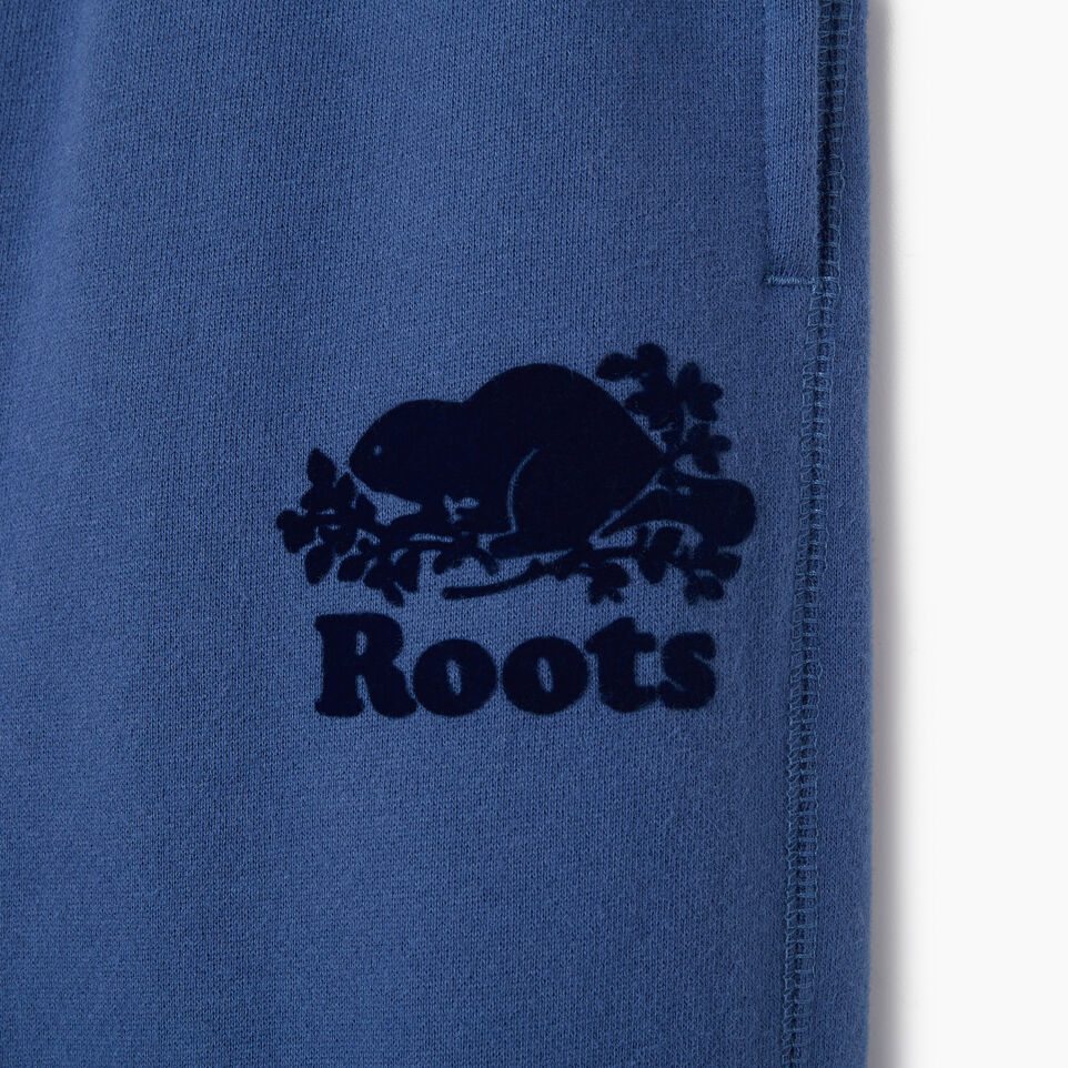 Roots-Kids Bottoms-Boys Original Sweatpant-True Navy-C