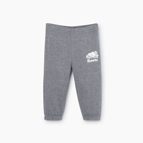 Roots-Kids New Arrivals-Baby Original Sweatpant-Medium Grey Mix-A