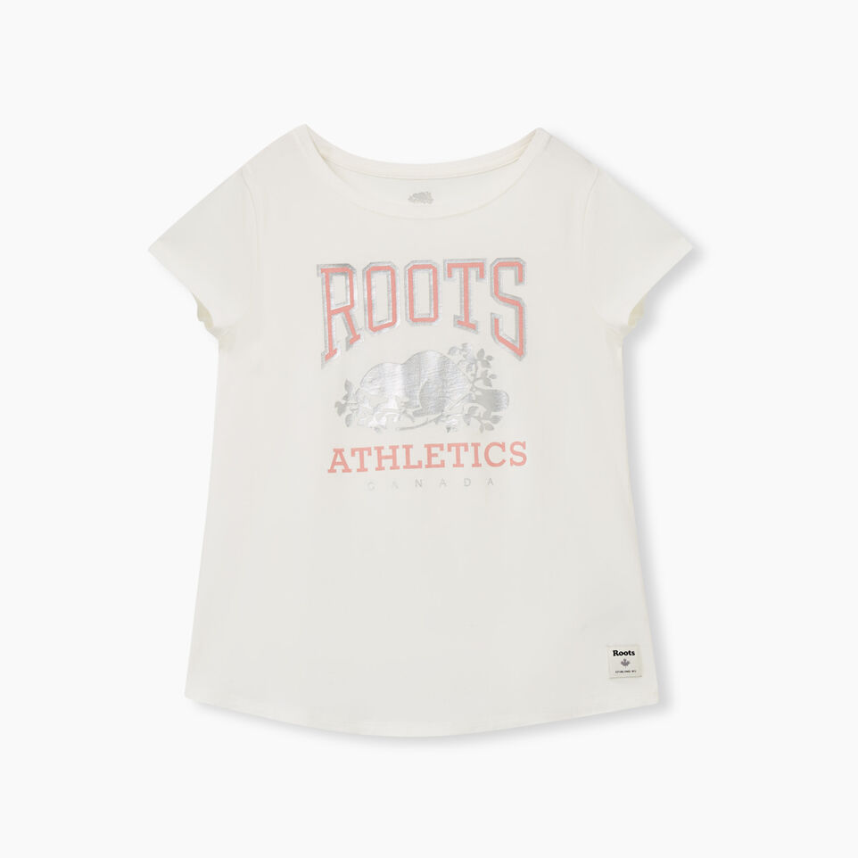 Roots-undefined-Girls Swing T-shirt-undefined-A