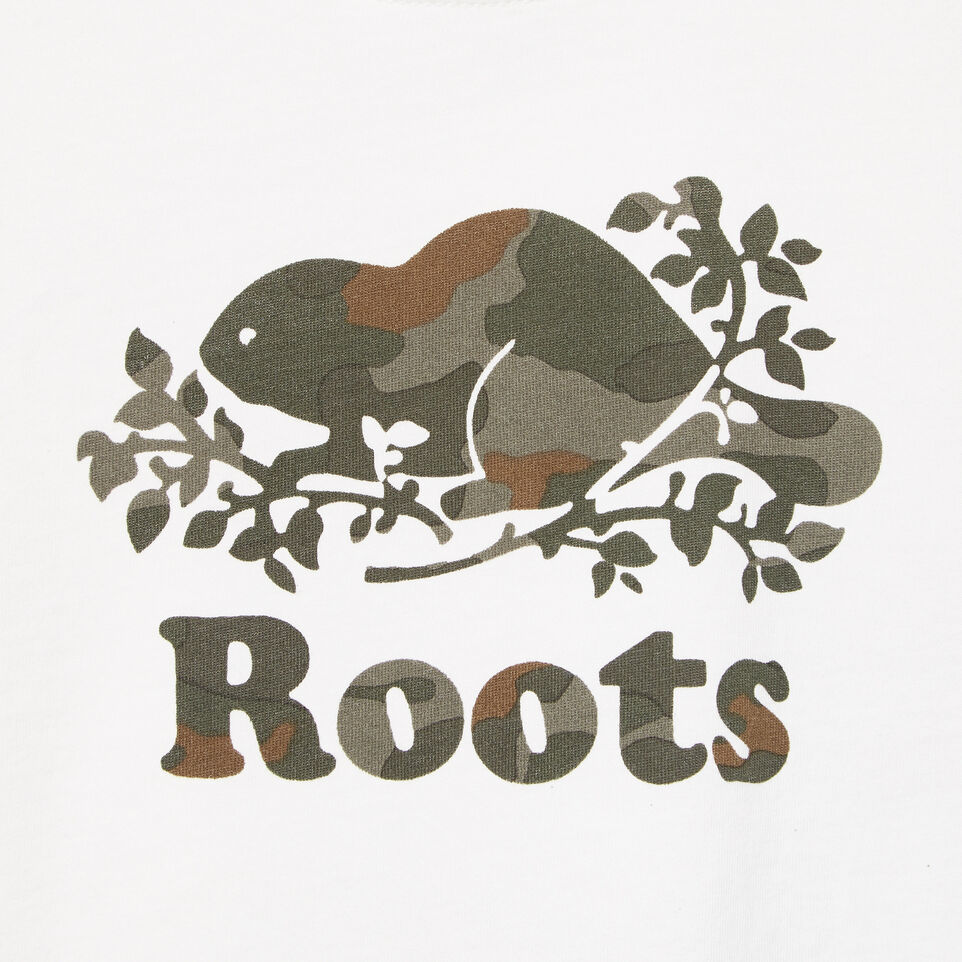 Roots-Kids New Arrivals-Toddler Camo Knockout T-shirt-Ivory-D