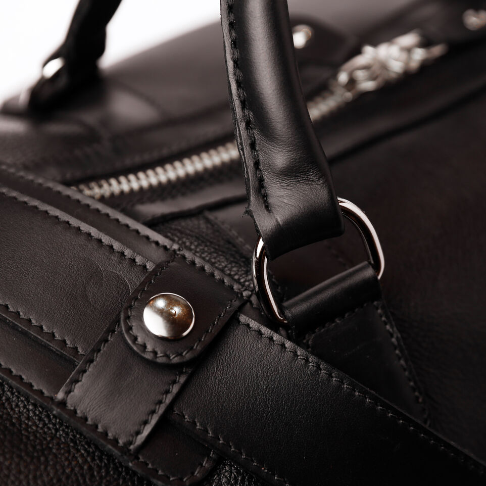 f0c7e0327a1d7d Large Banff Bag Prince. Roots-Leather Handcrafted By Us Weekender Bags-Large  ...