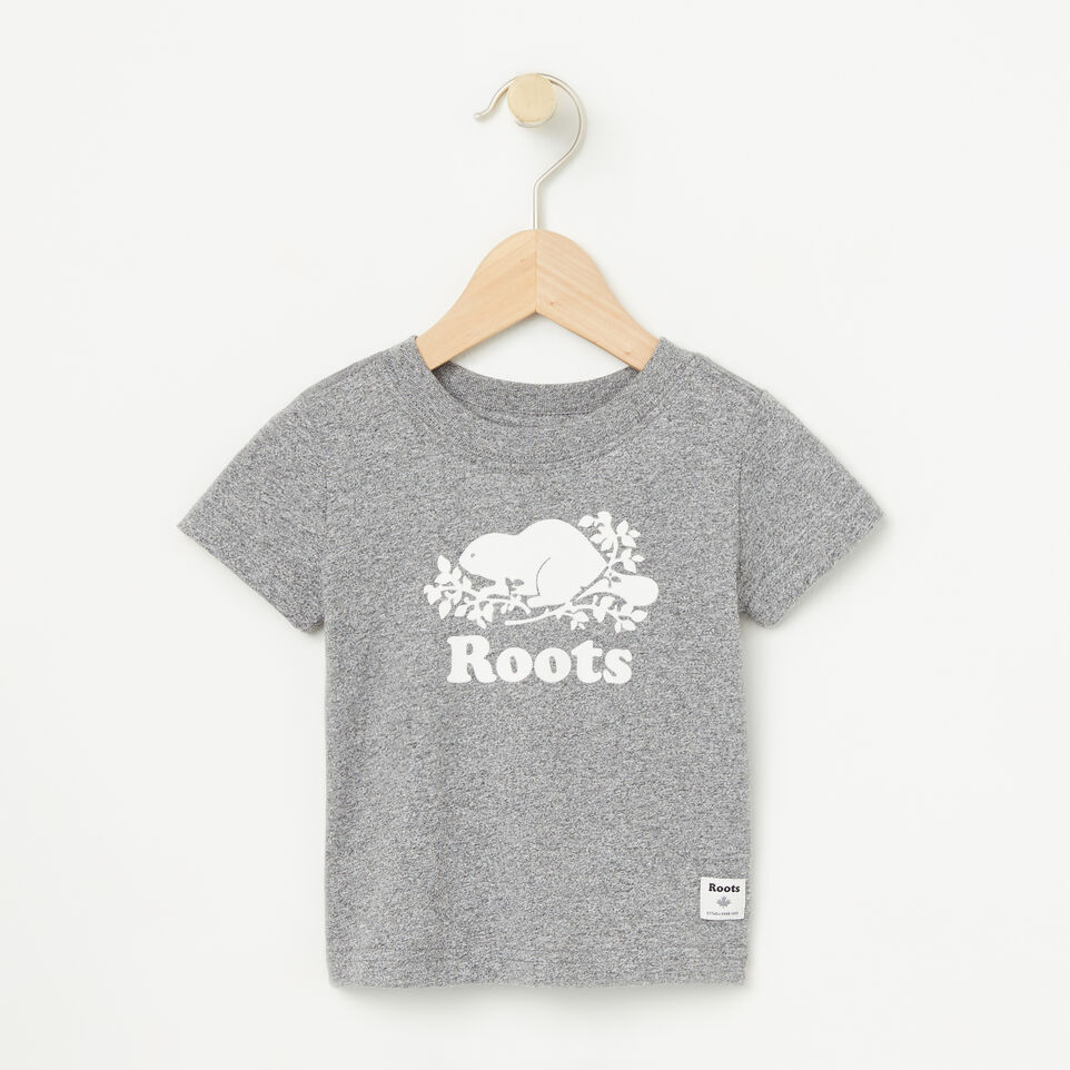 Roots-undefined-Baby Cooper Short Sleeve T-shirt-undefined-A
