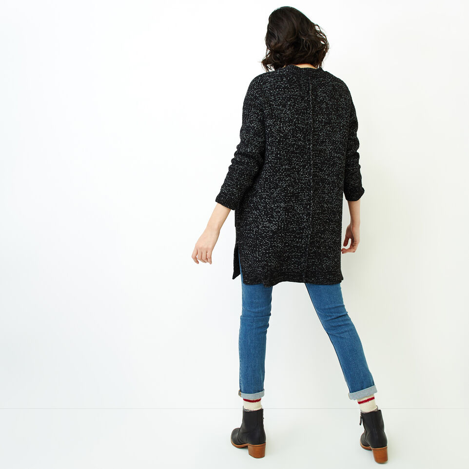 Roots-Women Our Favourite New Arrivals-Snowy Fox Cardigan-Black Fox-D