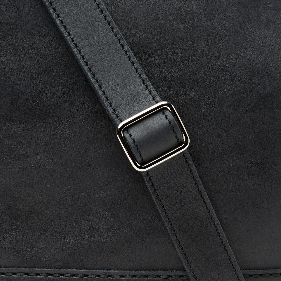 Roots-Leather Our Favourite New Arrivals-West End Hobo-Jet Black-D