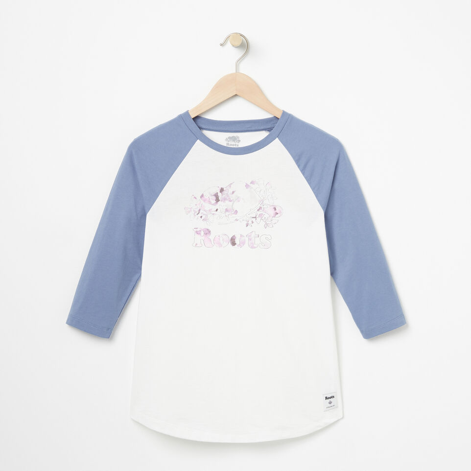Roots-undefined-Womens Water Colour Baseball Top-undefined-A