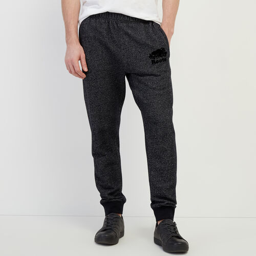 Roots-Men Slim Sweatpants-Park Slim Sweatpant-Black Pepper-A