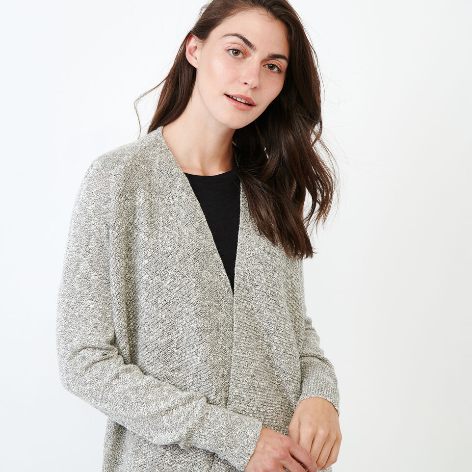 Roots-undefined-Snowy Fox Open Cardigan-undefined-E