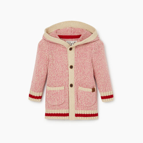 Roots-Kids Our Favourite New Arrivals-Baby Roots Cabin Cardigan-Cashmere Rose-A