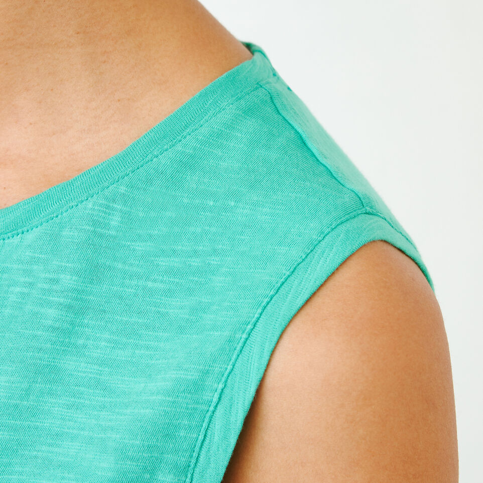 Roots-Women Our Favourite New Arrivals-Lorne Muscle Tank Top-Sea Green-E