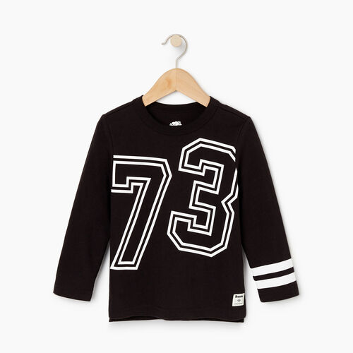 Roots-Sale Kids-Toddler 2.0 T-shirt-Black-A