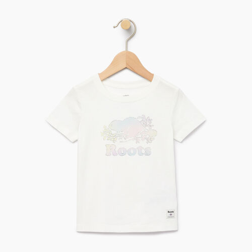 Roots-Clearance Kids-Toddler Moonbeam T-shirt-Ivory-A