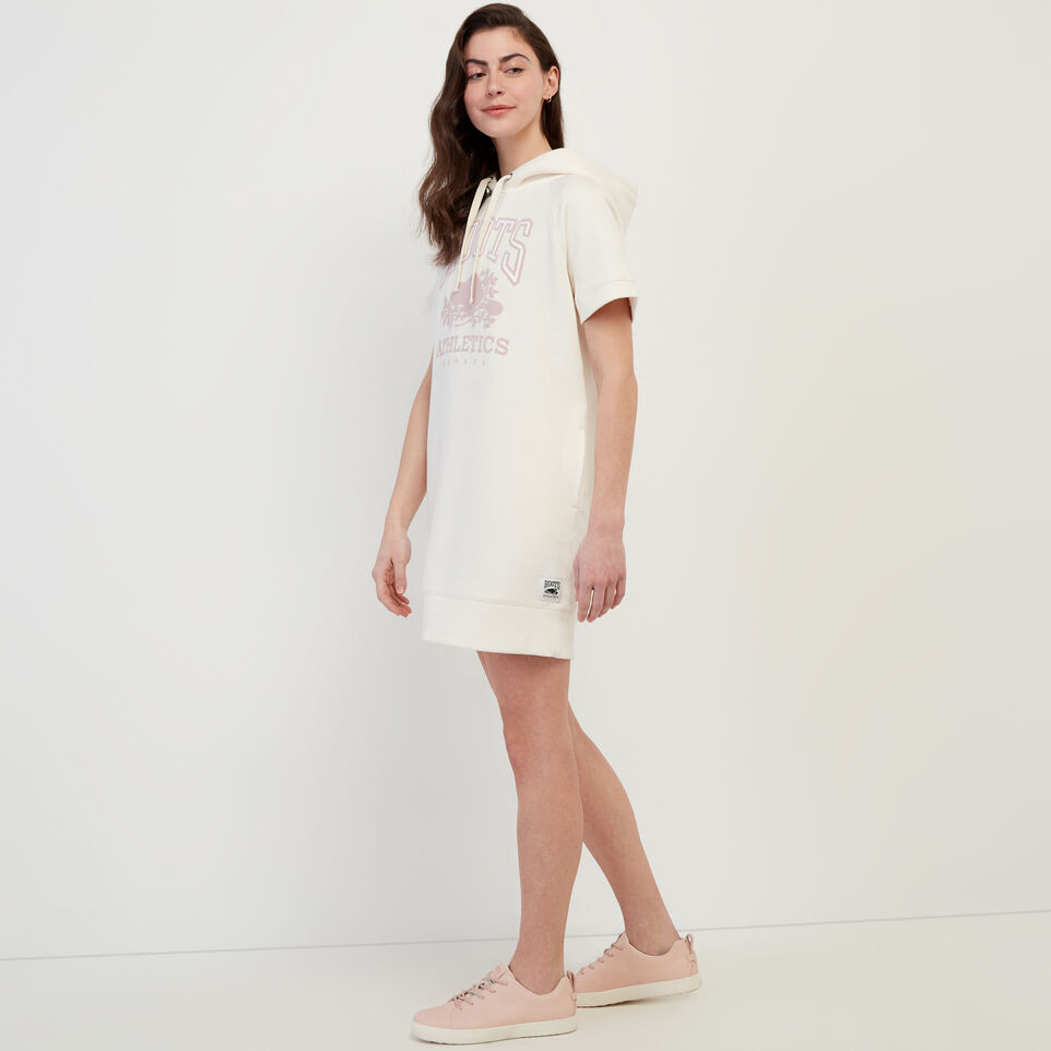 Roots-Women Our Favourite New Arrivals-RBA Hooded Dress-Egret-C
