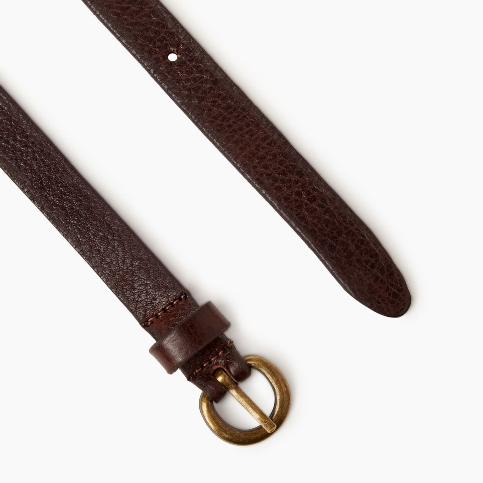 Roots-Women Our Favourite New Arrivals-Roots Womens Skinny Belt-Brown-B