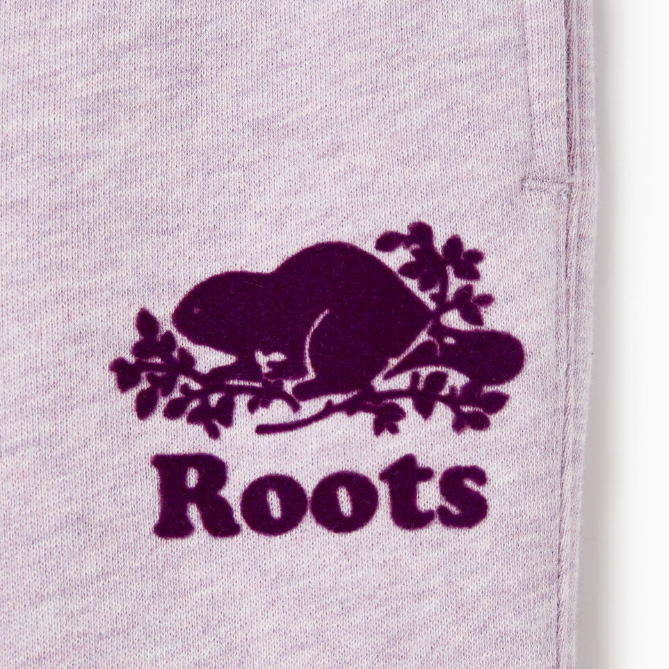 Roots-Kids Bottoms-Toddler Slim Cuff Sweatpant-Lupine Mix-D