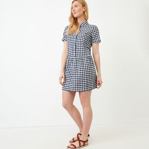 Roots-New For June Plaids-Hartley Dress-Eclipse-A