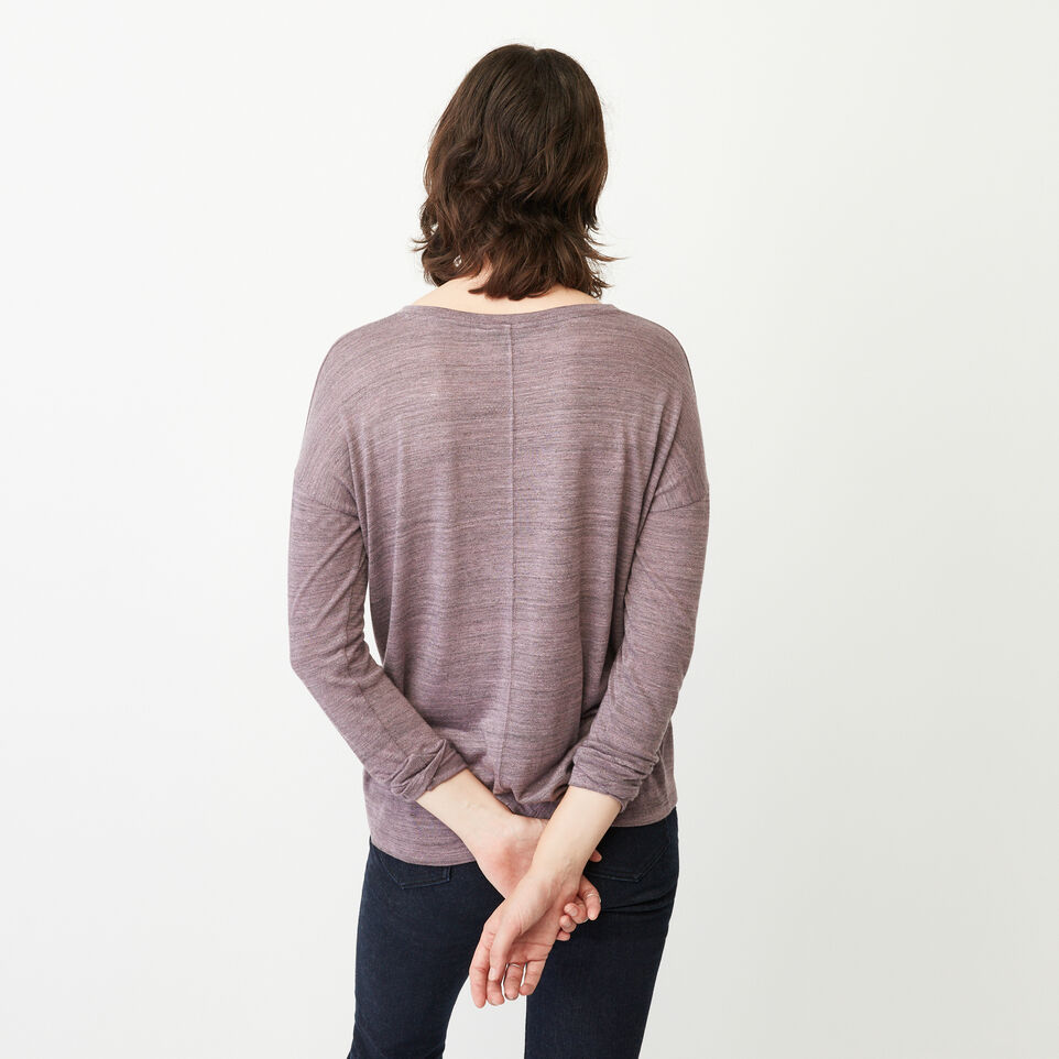 Roots-undefined-Courtenay V Neck Top-undefined-D
