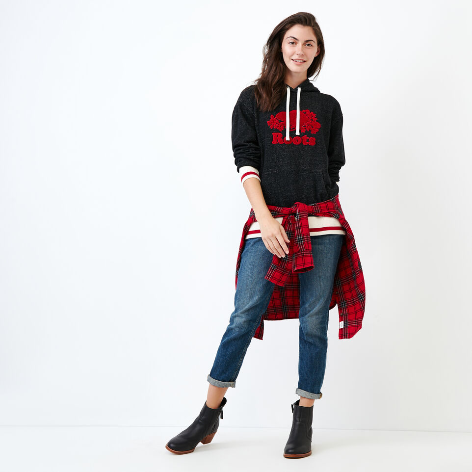 Roots-undefined-Cabin Fleece Hoody-undefined-B