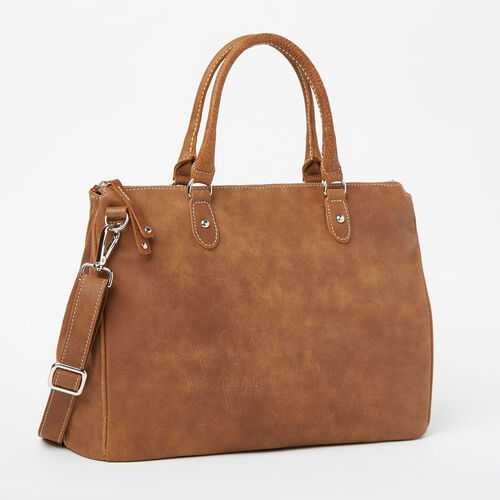 Roots-Leather  Handcrafted By Us Collections-Grace Bag Tribe-Natural-A