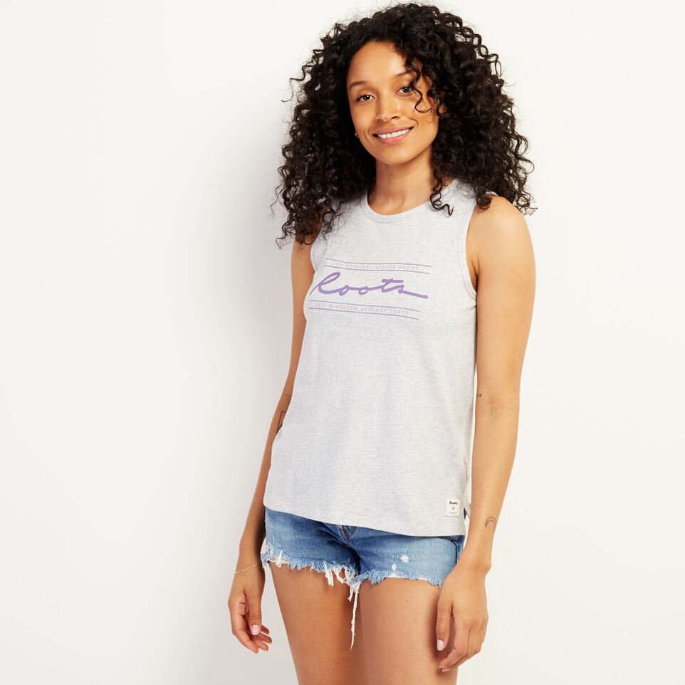 Roots-undefined-Script Tank Top-undefined-A