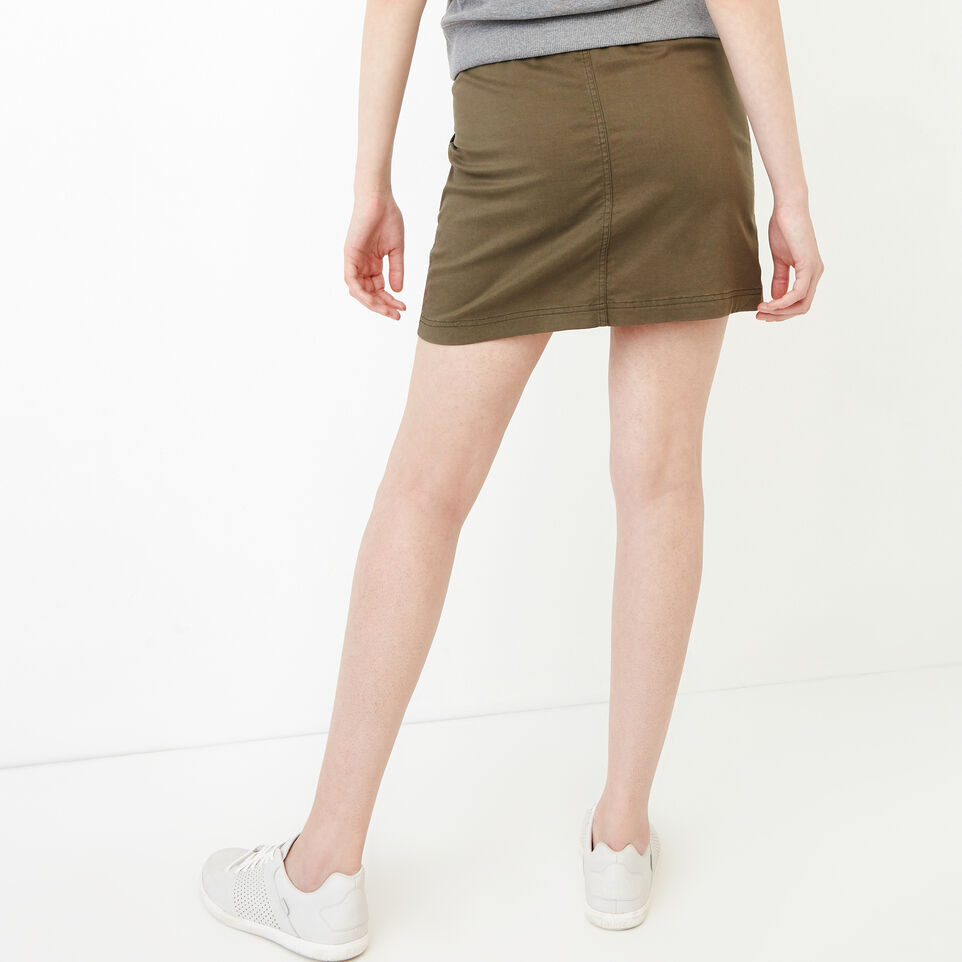 Roots-Women Our Favourite New Arrivals-Essential Skirt-Fatigue-D