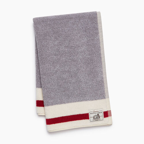 Roots-Women General Store-Cabin Hand Towel-Salt & Pepper-A