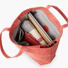 Roots-Leather Categories-Westmount Tote Tribe-Coral-D