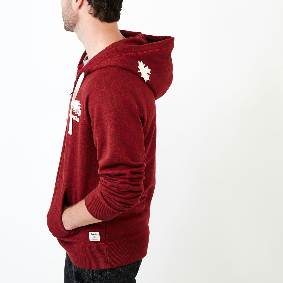 Roots-Men Our Favourite New Arrivals-Original Full Zip Hoody-Sundried Tomato Ppr-C
