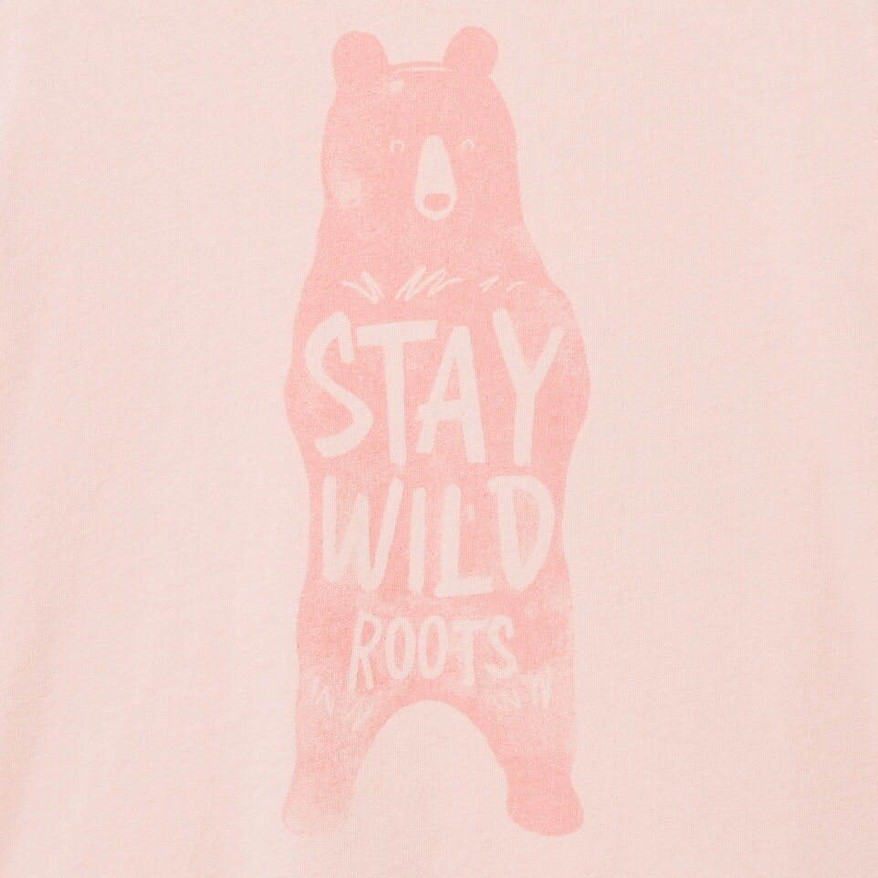 Roots-undefined-T-shirt Animal pour filles-undefined-C