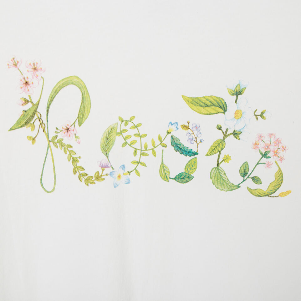 Roots-undefined-Womens Floral Garden Organic T-shirt-undefined-E