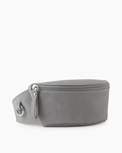 Roots-Leather New Arrivals-Small Belt Bag Tribe-Quartz-A