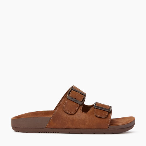 Roots-Footwear Men's Footwear-Mens Cobourg Sandal-Natural-A