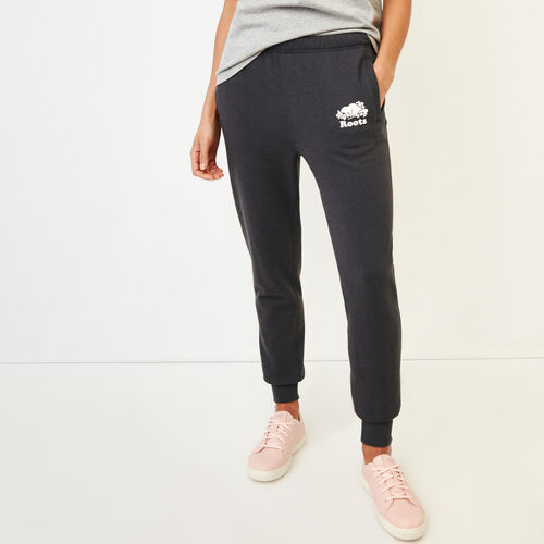 Roots-New For March Sweats-Aurora Sweatpant-Charcoal-A