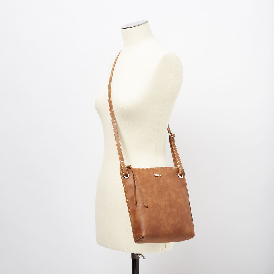 Roots-Leather  Handcrafted By Us Handbags-Festival Bag Tribe-Natural-B